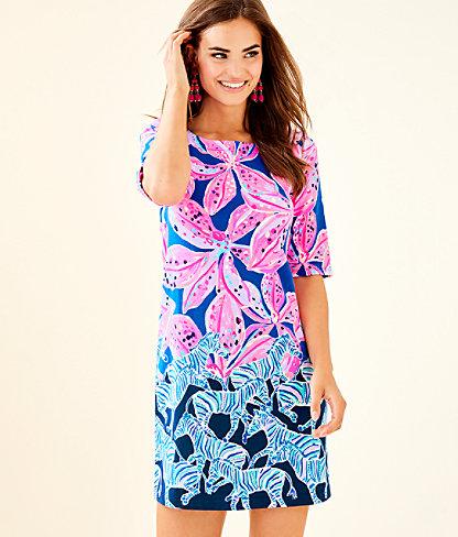 Lilah Dress, Royal Purple Wild Child Engineered Dress, large