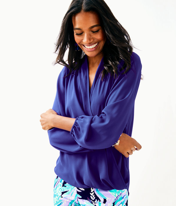Myah Top, Royal Purple, large