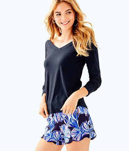 Suzanna Top, True Navy, large