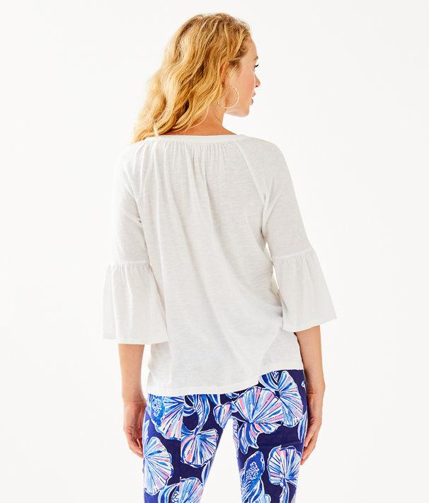 Teigen Top, Resort White, large