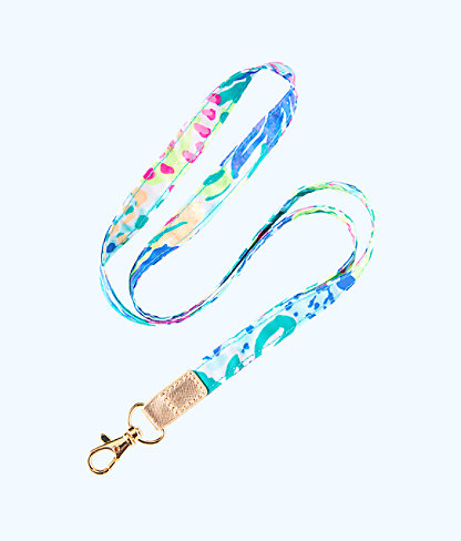 Lilly Lanyard, Beckon Blue Junipero Accessories, large