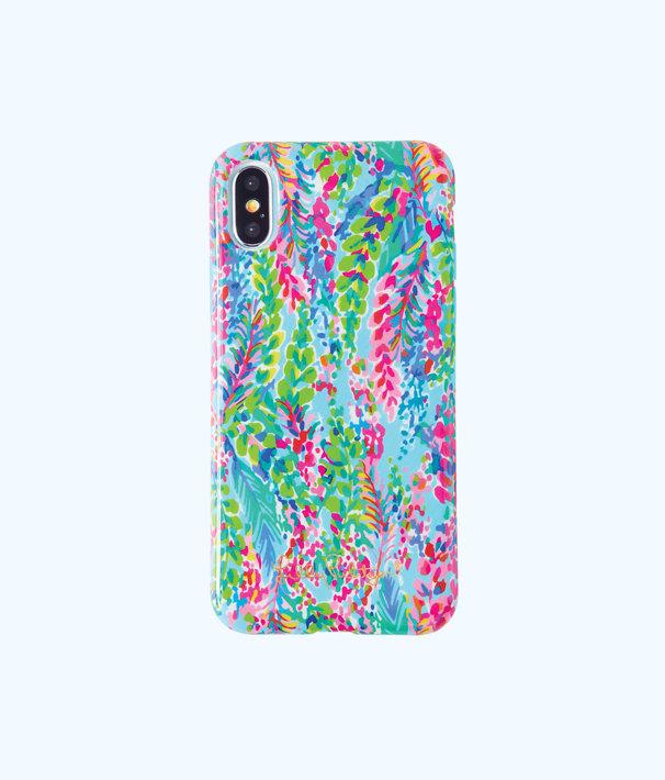 iPhone X Classic Case, Multi Catch The Wave Tech, large