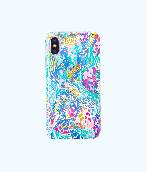 iPhone X Classic Case, Multi Mermaids Cove Tech X, large