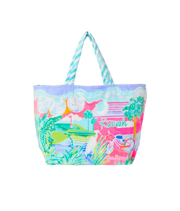 Destination Beach Tote, Multi Destination Kiawah Tote, large
