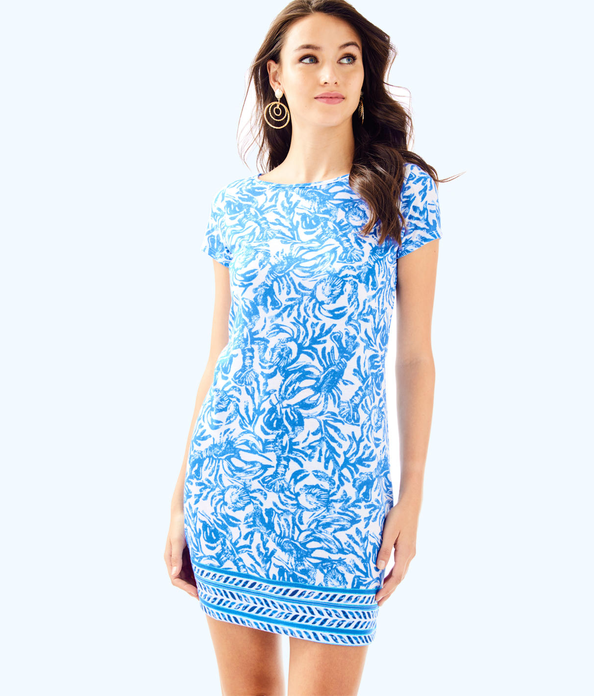 Lilly Pulitzer Lilly Pulitzer Womens Short Sleeve Marlowe Dress