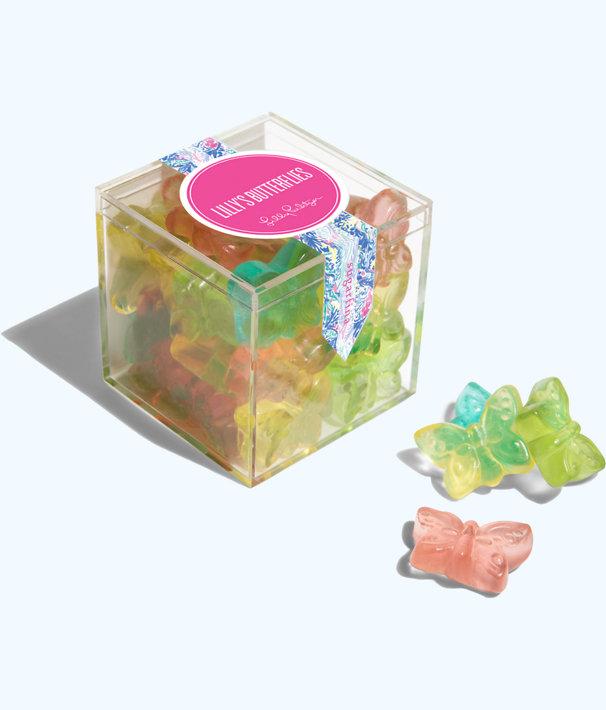 Lilly Pulitzer x Sugarfina 3 Piece Bento Box, Multi Mermaids Cove Sugarfina Box, large