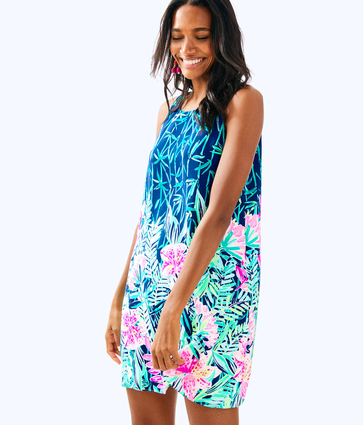 Lilly Pulitzer Jackie Silk Shift Dress