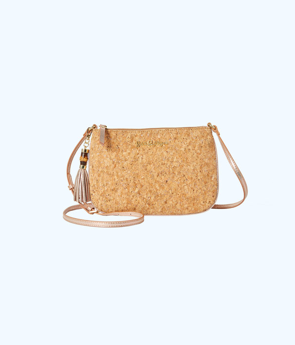 Cruisin Crossbody Bag, Rose Gold, large