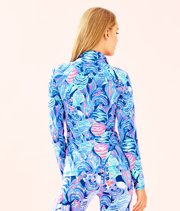 UPF 50+ Luxletic Sunset Key Jacket, Twilight Blue Scale Up, large