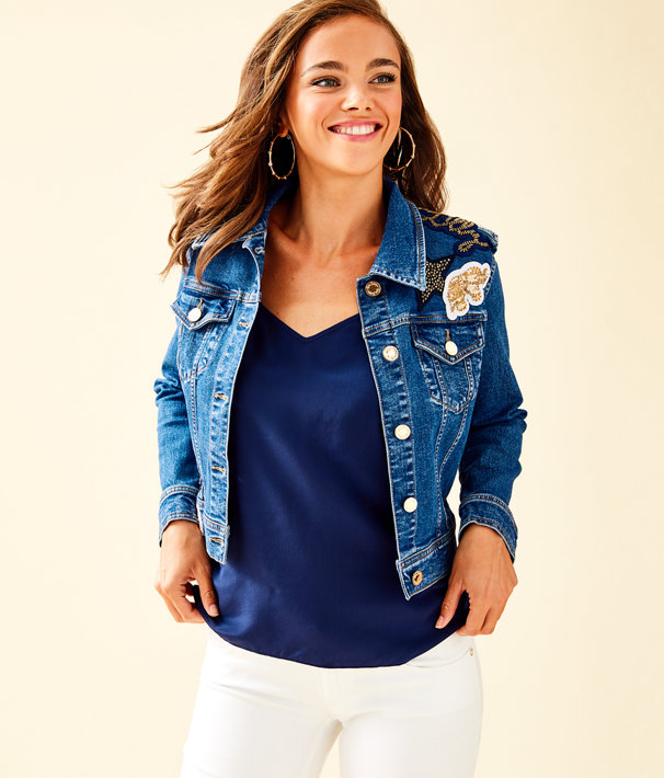 Seaspray Denim Jacket, , large