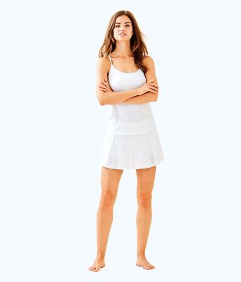 Luxletic Brandy Bra Tank, Resort White Perfect Match Jacquard, large 2