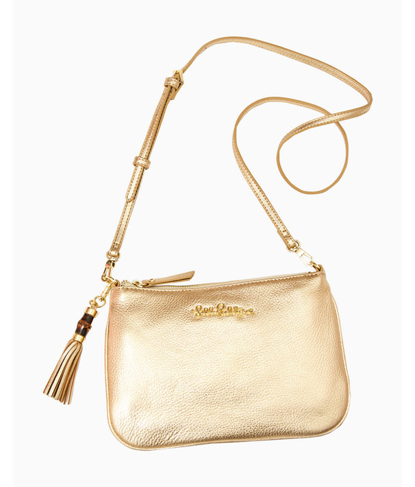 Crusin Crossbody, Gold Metallic, large