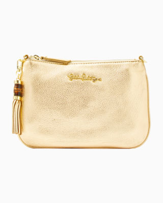 Cruisin Crossbody Bag, Gold Metallic, large