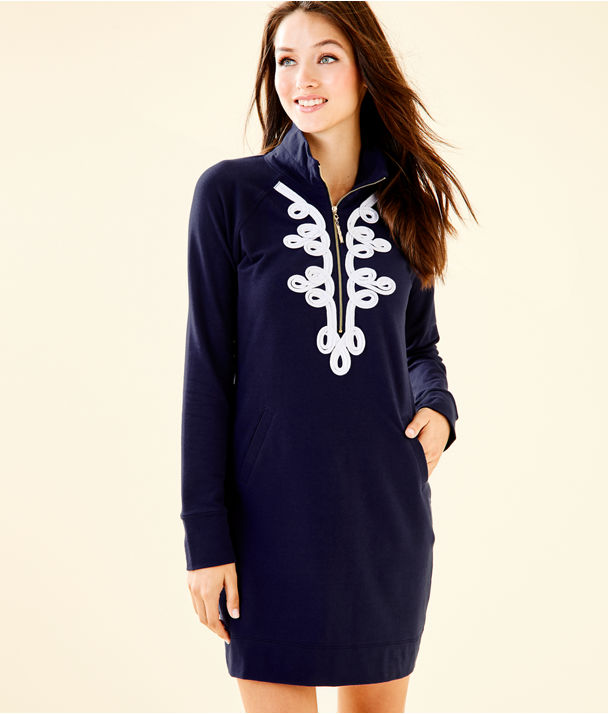 Skipper Dress, True Navy, large
