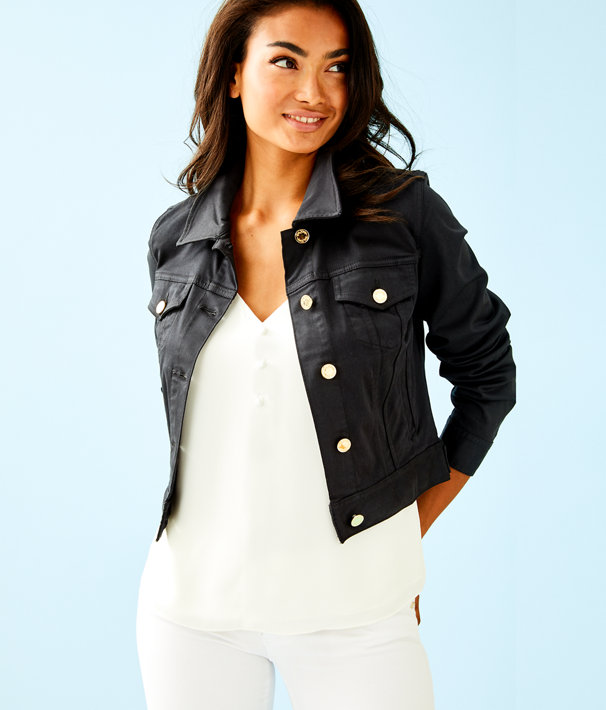 Seaspray Jacket, Onyx, large
