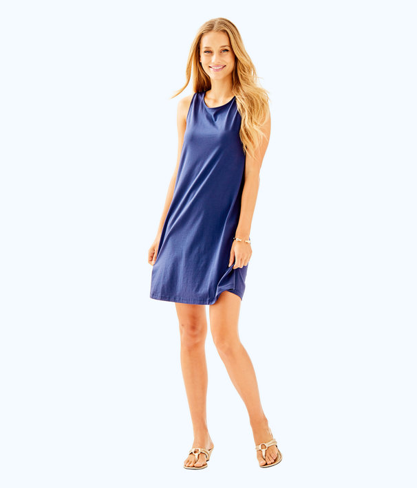Kristen Dress, True Navy, large