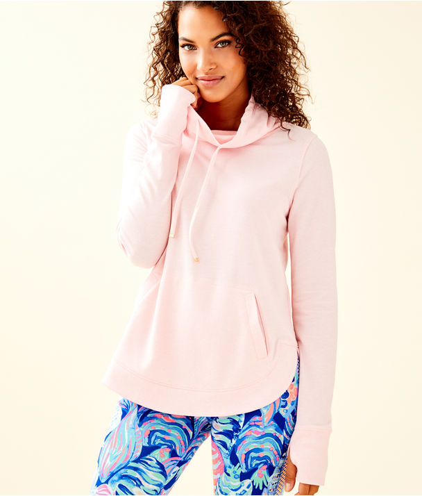 Fletcher Pullover, Heathered Paradise Pink, large