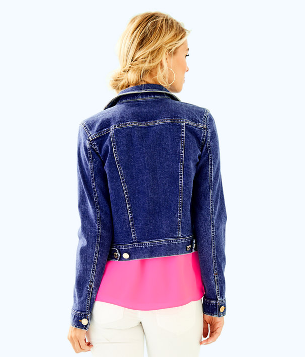 Seaspray Denim Jacket, Via Marila Wash, large