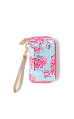 Lilly Pulitzer Carded ID Wristlet- Pi Beta Phi