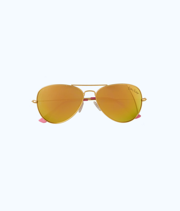 Lexy Sunglasses, Multi Coco Coral Crab, large