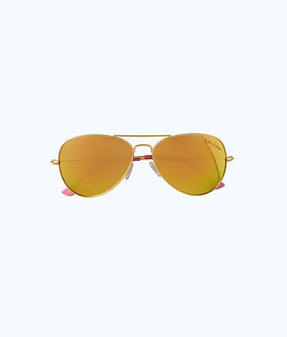 Lexy Sunglasses, Multi Coco Coral Crab, large 1