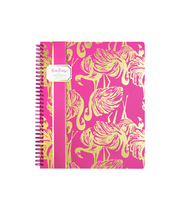 Large Notebook, Magenta Gimme Some Leg, large