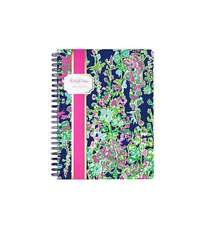 Mini Notebook, Bright Navy Southern Charm, large