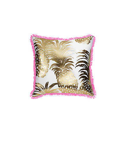Large Indoor/Outdoor Pillow, Pink Pout Flamenco, large