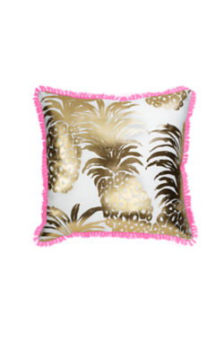 Large Indoor/Outdoor Pillow, Pink Pout Flamenco, large 0