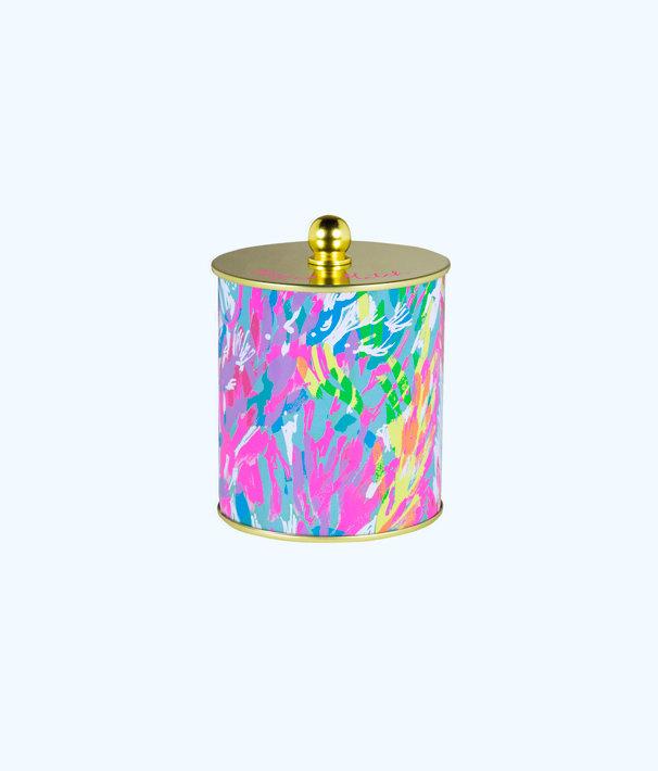 Jar Candle, Multi Sparkling Sands, large