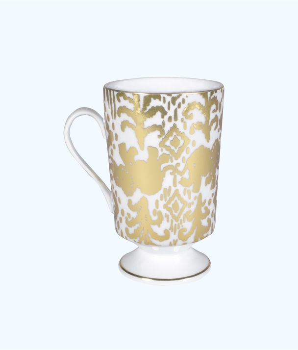 Ceramic Mug, Gold Metallic Tons Of Fun, large