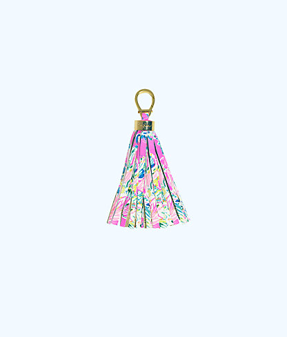 Keychain, Tiki Pink Gypsea, large
