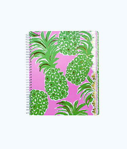 Large Notebook, Pink Pout Flamenco, large