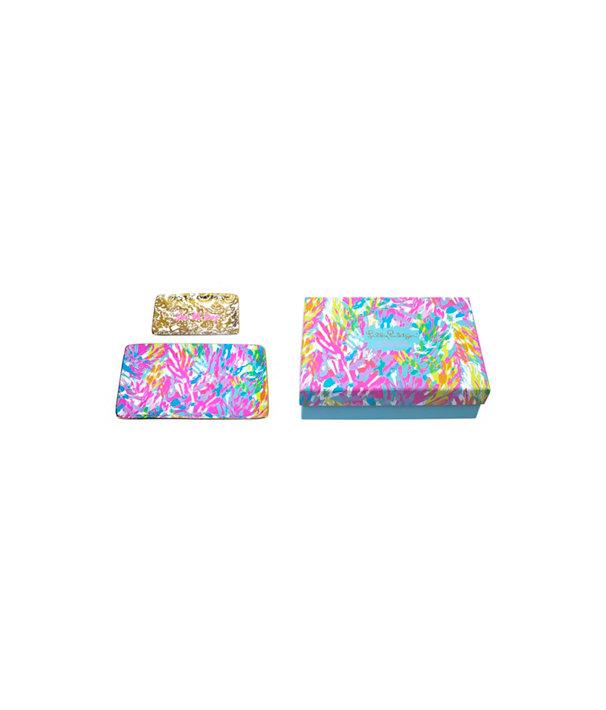 Trinket Tray Set, Multi Sparkling Sands, large