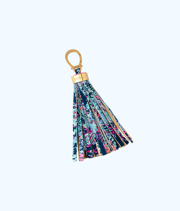 Keychain, Deep Indigo Gypsea Girl, large
