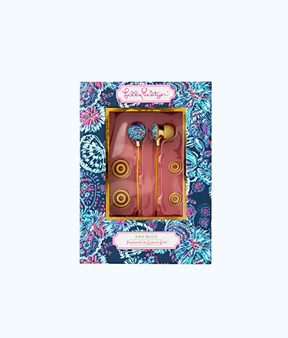Earbuds, Deep Indigo Gypsea Girl, large