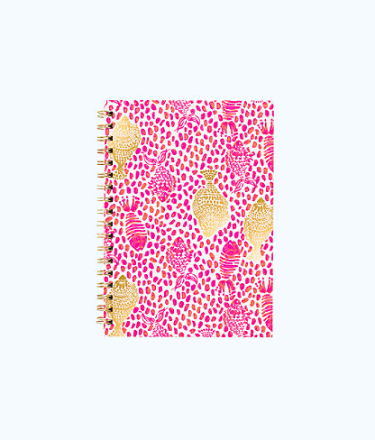 Notebook Hard Cover, Raz Berry Heart And Sole, large