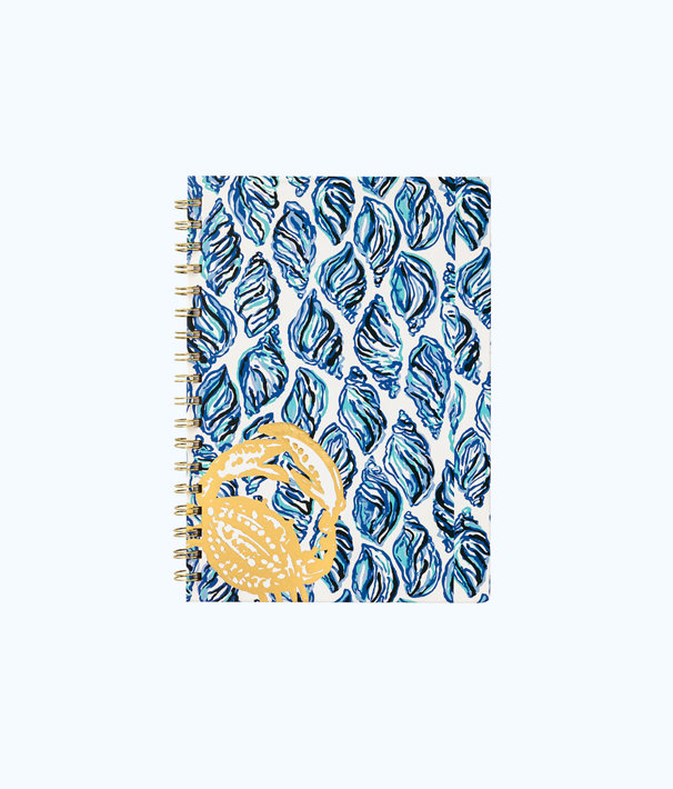 Notebook Hard Cover, Resort White Drop In, large