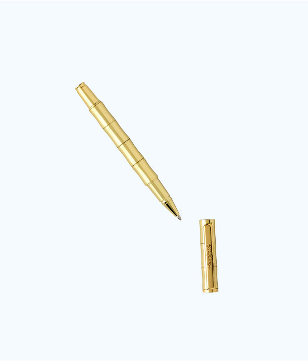Ballpoint Pen Bamboo, Gold Metallic, large