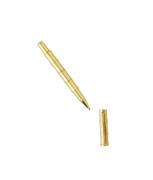 Ballpoint Pen Bamboo, Gold Metallic, large