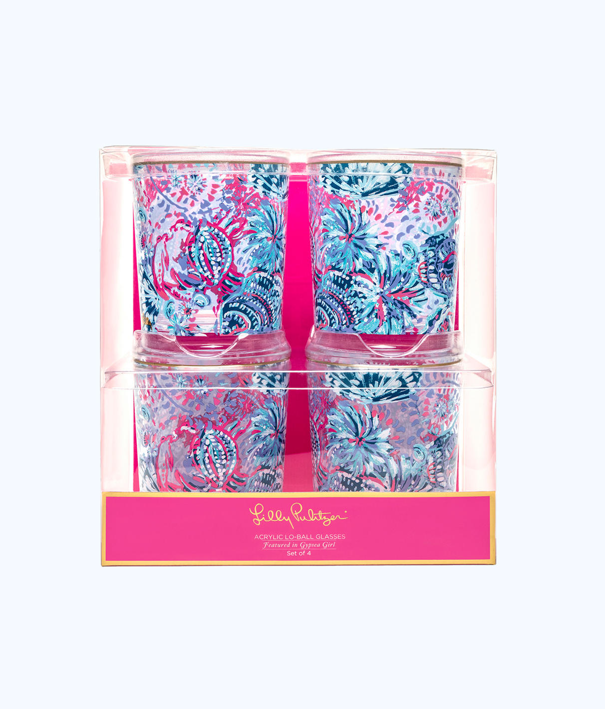 Lilly Pulitzer Lilly Pulitzer Lo Ball Glass