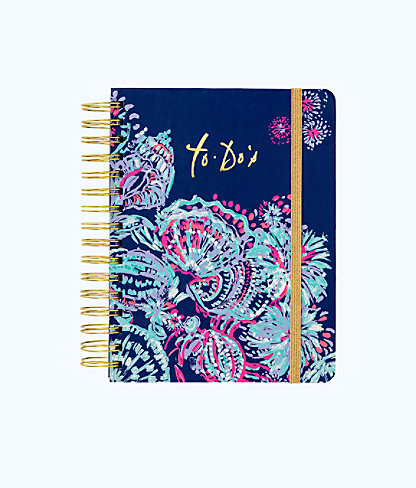 To Do Planner, Deep Indigo Gypsea Girl, large