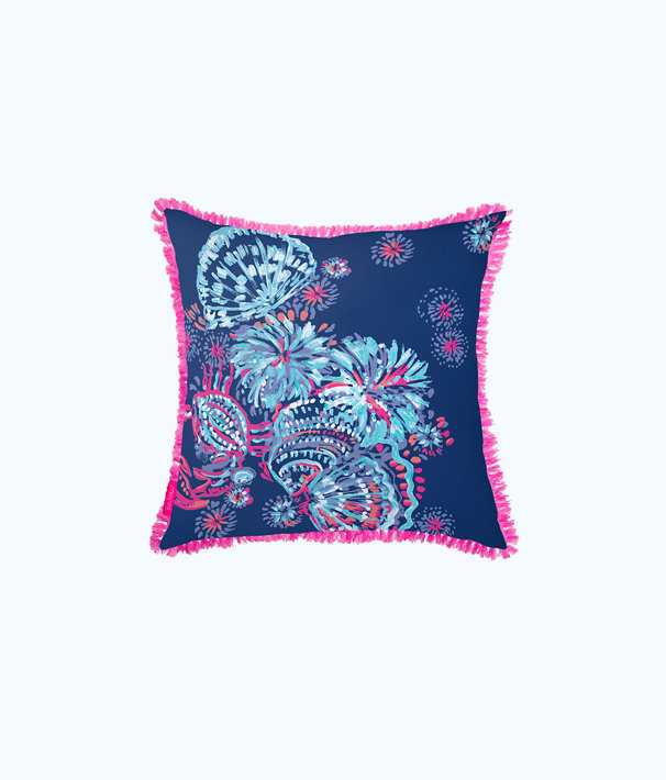 Large Pillow, Deep Indigo Gypsea Girl, large
