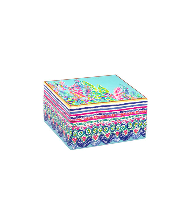 Small Lacquer Box, Multi Catch The Wave, large