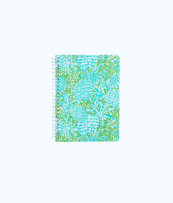 Mini Notebook, Tropical Turquoise Home Slice, large 0