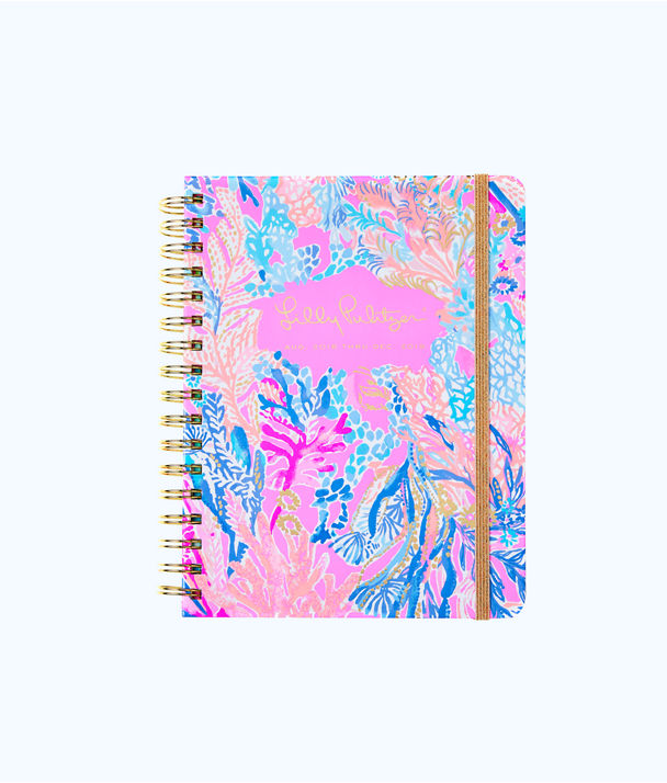 2018 - 2019 17 Month Large Agenda, Light Pascha Pink Aquadesiac, large