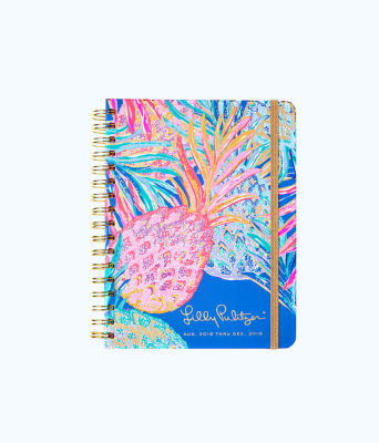 2018 - 2019 17 Month Large Agenda, Multi Gypset Paradise, large