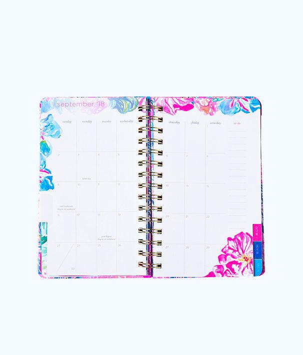2018 - 2019 17 Month Medium Agenda, Light Pascha Pink Aquadesiac, large