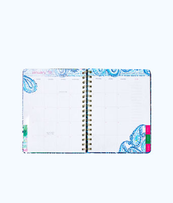 2018 - 2019 17 Month Monthly Planner, Multi Mermaids Cove, large 4