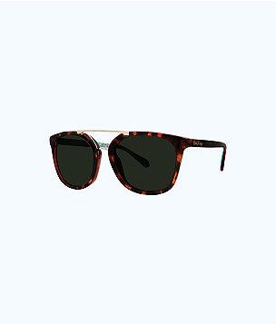 Emilia Sunglasses, Dark Tortoise, large